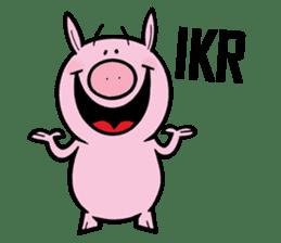 Piggies sticker #2211849