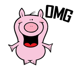 Piggies sticker #2211852