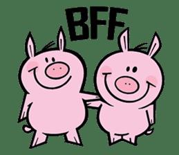 Piggies sticker #2211857