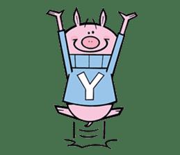Piggies sticker #2211863