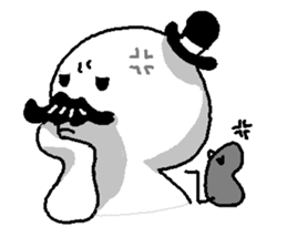 Mustache uncle sticker #2213029