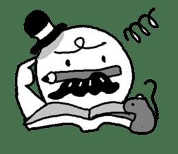 Mustache uncle sticker #2213030