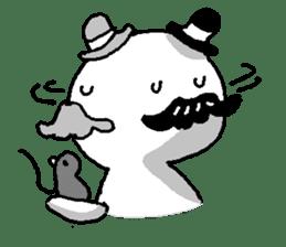 Mustache uncle sticker #2213033