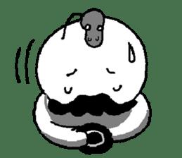 Mustache uncle sticker #2213036