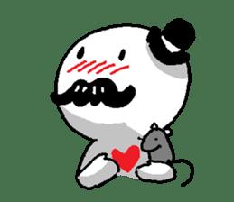 Mustache uncle sticker #2213037