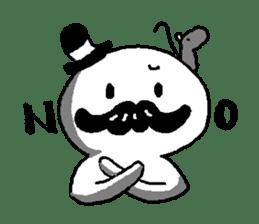 Mustache uncle sticker #2213044