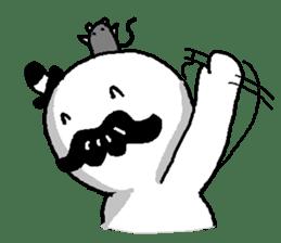 Mustache uncle sticker #2213047
