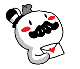 Mustache uncle sticker #2213051