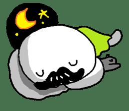 Mustache uncle sticker #2213058