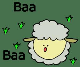Baa Baa Baa sticker #2213106