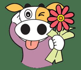 COW SWEET ! sticker #2214946
