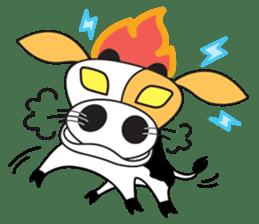 COW SWEET ! sticker #2214950