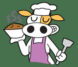 COW SWEET ! sticker #2214954