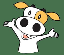 COW SWEET ! sticker #2214975