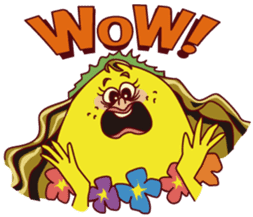 WHOOPIE's Lemons came from Hawaii sticker #2215601
