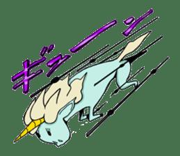 unicorn-san sticker #2216946