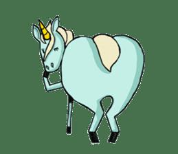 unicorn-san sticker #2216947