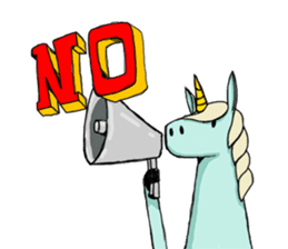 unicorn-san sticker #2216948