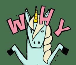 unicorn-san sticker #2216949