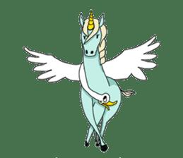 unicorn-san sticker #2216950