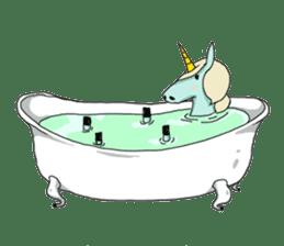 unicorn-san sticker #2216951