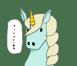unicorn-san sticker #2216954