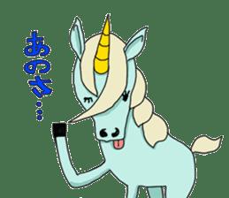 unicorn-san sticker #2216957