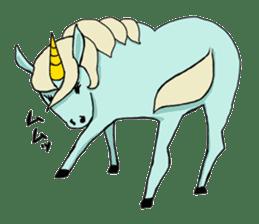 unicorn-san sticker #2216958