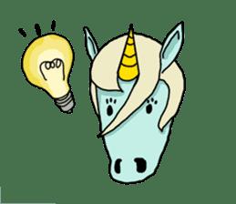 unicorn-san sticker #2216959