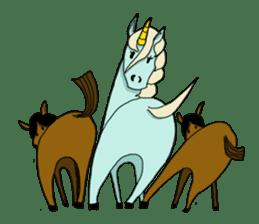 unicorn-san sticker #2216966