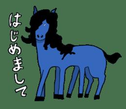 unicorn-san sticker #2216969