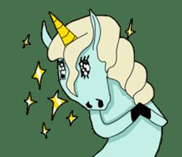 unicorn-san sticker #2216983