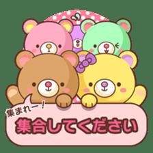 Bear message Sticker sticker #2218128