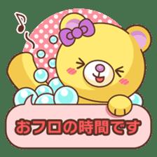 Bear message Sticker sticker #2218140