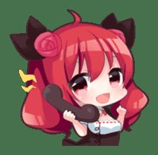 Akagiri Nene & Momosaki Mimi sticker #2219806