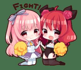 Akagiri Nene & Momosaki Mimi sticker #2219818
