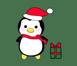 Penguin baby lovely sticker #2222026