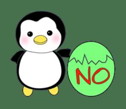 Penguin baby lovely sticker #2222035