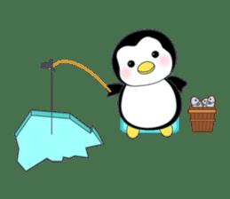 Penguin baby lovely sticker #2222042