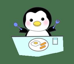 Penguin baby lovely sticker #2222043