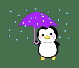 Penguin baby lovely sticker #2222048