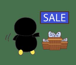 Penguin baby lovely sticker #2222050