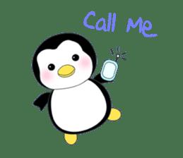 Penguin baby lovely sticker #2222051