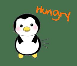 Penguin baby lovely sticker #2222052