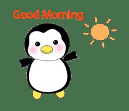 Penguin baby lovely sticker #2222059