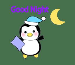 Penguin baby lovely sticker #2222060