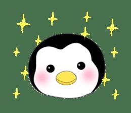 Penguin baby lovely sticker #2222061