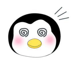 Penguin baby lovely sticker #2222063