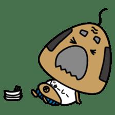"OKINAWA RICE-BALL! ""Jyuu-shii Ojii"" sticker #2223514"