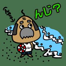 "OKINAWA RICE-BALL! ""Jyuu-shii Ojii"" sticker #2223537"